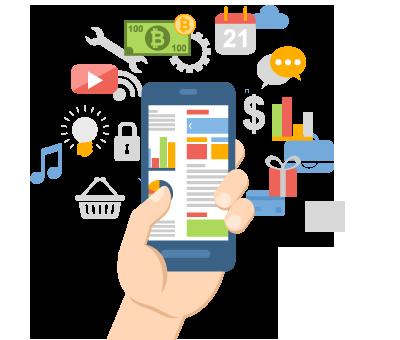تصميم تطبيق جوال للشركات